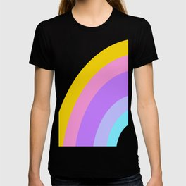 Sweet Candy Rainbow Stripes T-shirt