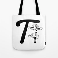 "tigger Tote Bags featuring ""Winnie the Pooh"" 