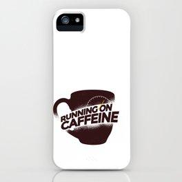 Cunning On Caffeine iPhone Case