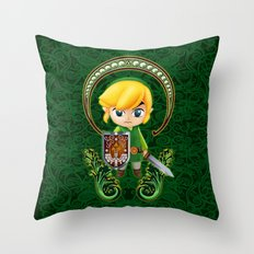 Cute Link Egg Head Throw Pillow