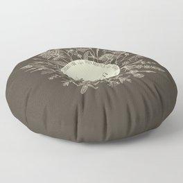 Dear Sassenach in Sepia Floor Pillow