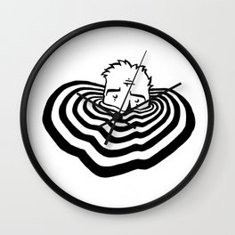 Ripples #2 Wall Clock