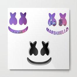 3 Marshmello Metal Print