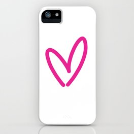 Funky Heart iPhone Case