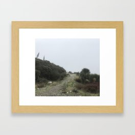 Mountain Trail Framed Art Print