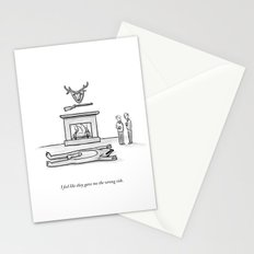 The Wrong Side Stationery Cards