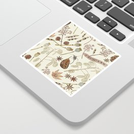 Seed Pods Sticker