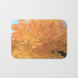 Autumn Explosion Bath Mat