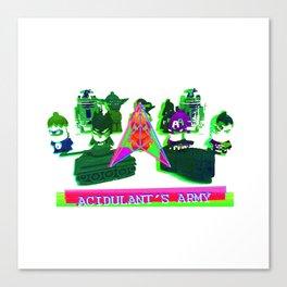 Acidulant's Army  Canvas Print