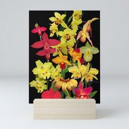 Orchids - Hot Colors! Mini Art Print