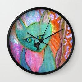 Kittie Wall Clock