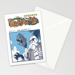 Master Roshi & Gokú Stationery Cards