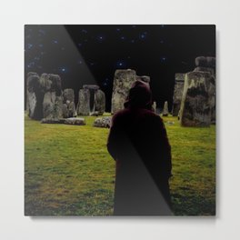 Druid Princess of Stonehenge Metal Print