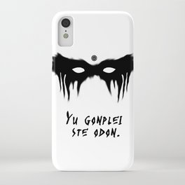 Your Fight Is Over (Trigedasleng) iPhone Case