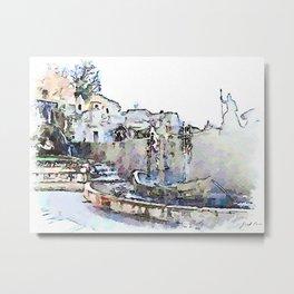 Tivoli: fountain of Villa d'Este Metal Print