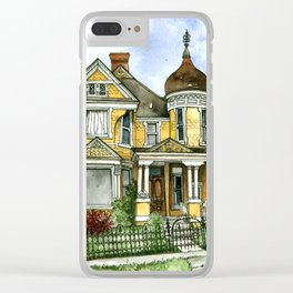 Victorian Summer Clear iPhone Case