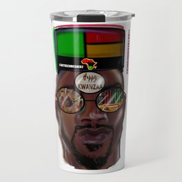 Kwanzaa King Travel Mug