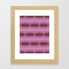 Pink glow 2 Framed Art Print