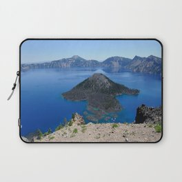 Crater Lake Volcanic Crater Oregon USA Laptop Sleeve