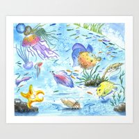 Sea World II Art Print