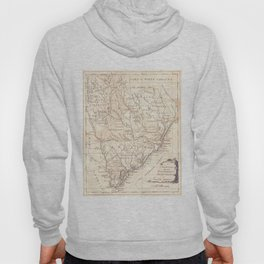 Vintage Map of South Carolina (1779) Hoody