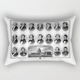 American Presidents - First Hundred Years Rectangular Pillow
