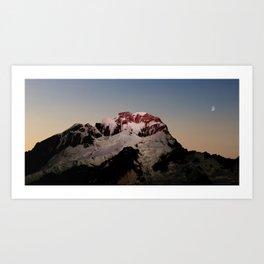 Sunrise over Aoraki / Mount Cook. Art Print