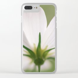 Bloom When You Want - Flower Photography Clear iPhone Case