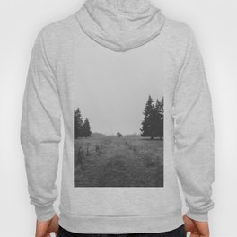 Siblings - black and white landscape photography Hoody