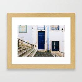 Alfama - Lisbon, Portugal - #2 Framed Art Print