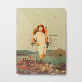 SunflowerMiss Metal Print