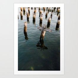 Summer Shades (Boston) Art Print