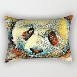 AnimalArt_Panda_20170601_by_JAMColorsSpecial Rectangular Pillow