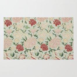 William Morris Cray Floral Pre-Raphaelite Vintage Art Nouveau Pattern Rug