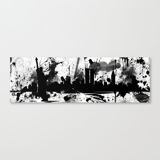 NYC Painted Canvas Print