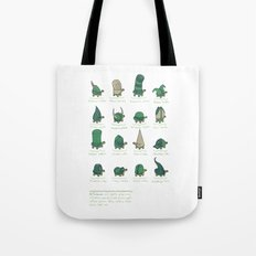 A Study of Turtles Tote Bag