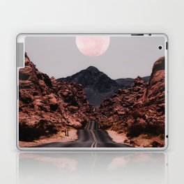 Road Red Moon Laptop & iPad Skin