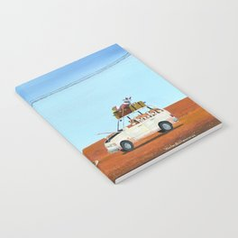 The Out of Service Phone Box Notebook