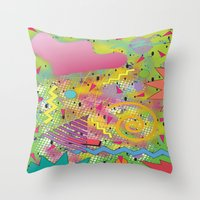 fresh prince Throw Pillows featuring Fresh Prince by TheArtGoon