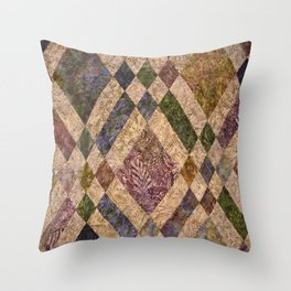 Faded Memories Throw Pillow