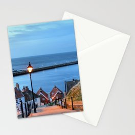 Whitby After Sun Down Stationery Cards