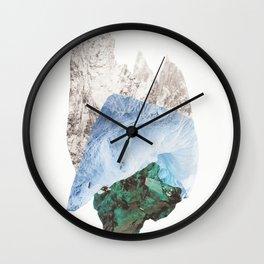 Crystalize I Wall Clock