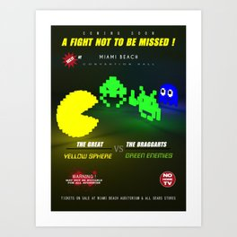 Fight ! Art Print