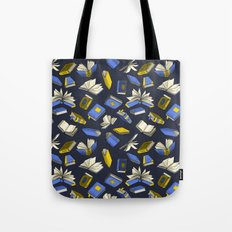 Spellbooks, blue Tote Bag