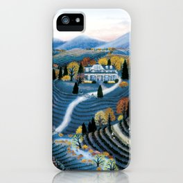 Hudson Valley by Kathy Jakobsen iPhone Case