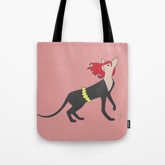 BlackCat Widow Tote Bag