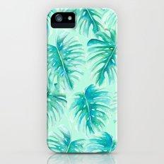 Paradise Palms Mint Slim Case iPhone (5, 5s)