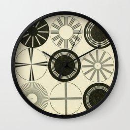 Vintage Astigmatic Chart Wall Clock