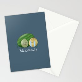 Melancholy Melons Stationery Cards