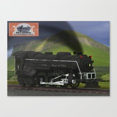 City of New Orleans Train Canvas Print